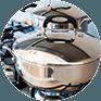 Astuce: Raviver l'inox d'une casserole ou d'un évier