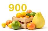 900 espèces d'agrumes.