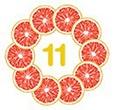 11 agrumes proposés sur houra.fr
