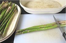 Comment retirer le noyau de l'asperge