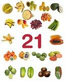 21 variétés de fruits exotiques sur houra.fr