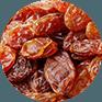 Astuce: que dire  des  raisins secs ?