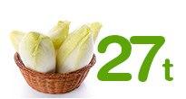 27 tonnes de salades