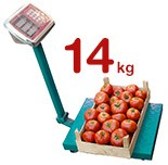 14kg de tomates par ménage par an