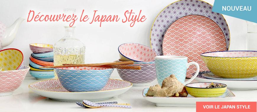 Décrouvrez le Japan Style: vaisselle tokyo design