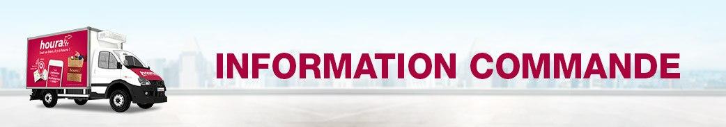 Information commandes