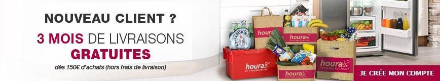 Nouveau client ? Bénéficiez de 3 mois de livraisons gratuites dès 150 euros d'achat hors frais de livraison