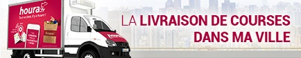 La livraison de courses dans ma ville Villeselve (60640)