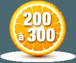 200 à 300