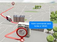 Suivre en direct sa livraison de courses ? C'est désormais possible avec houra.fr ! expli 04