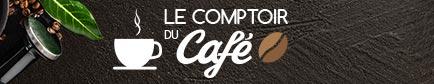 Le comptoir du café