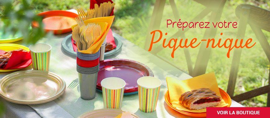 Préparez votre pique-nique : vaisselle jetable écologique