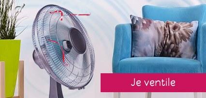 boutiques Maison et Déco : ventilateurs, rafraichisseurs