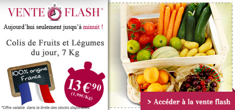 Vente Flash Fruits & L�gumes
