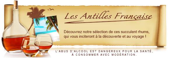 Rhum des Antilles française