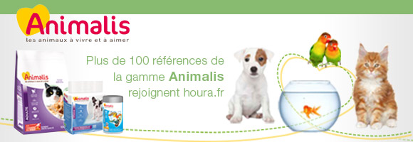 Retrouvez plus de 100 références de la gamme  Animalis sur houra.fr