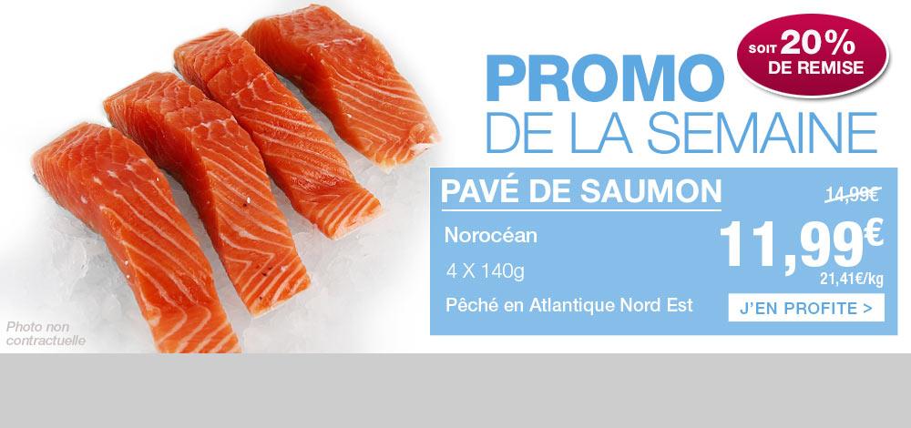 Pav� de saumon en promotion !