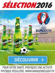 Tourtel Twist trinquons pour l'Euro 2016 de football