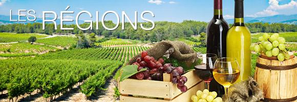 Les vins de régions