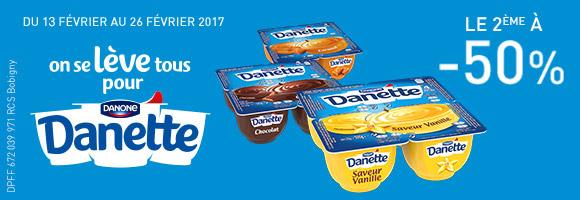 Du 13 au 26 février, on se lève tous pour Danette !