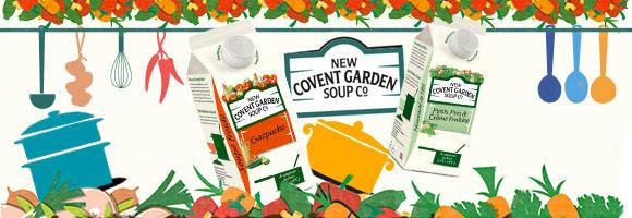 Cagnottez 50% sur le 2ème produit New Covent Garden !