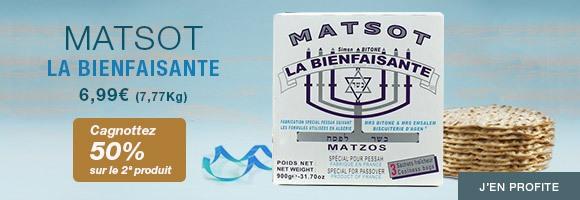 Matsot La Bienfaisante : cagnottez 50% sur le 2ème produit !