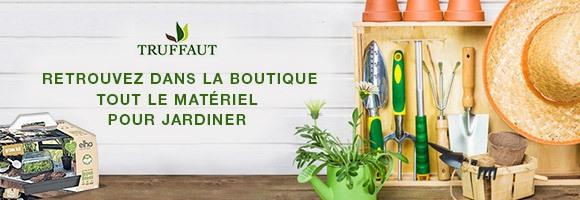 Retrouvez dans la boutique Truffaut tout le matériel pour jardiner
