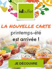 La nouvelle carte Idbuffet printemps-été est arrivée