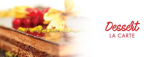Craquez pour ces succulents desserts pour accompagner vos repas & buffets.