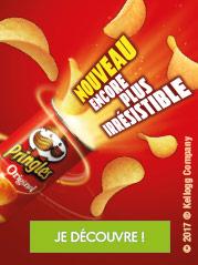 Découvrez les saveurs Pringles pour renouveler vos soirées !