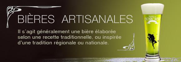 L'expressionbière artisanaledésigne généralement unebièreélaborée selon une recette traditionnelle, ou inspirée d'une tradition régionale ou nationale.