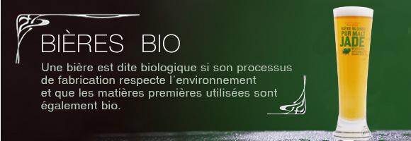 Unebière est dite biologique si son processus de fabrication respecte l'environnement et que les matières premières utilisées sont également bio.