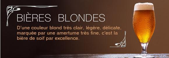D'une couleur blond très clair, légère, délicate, marquée par une amertume très fine, c'est la bière de soif par excellence.