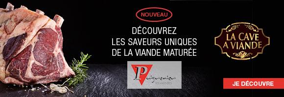 Puigrenier se positionne comme le spécialiste du bovin et plus particulièrement du Charolais sur l'ensemble de ses gammes,  mais également  du Limousin, Salers et de l'Aubrac. 30 ans de collaboration avec des éleveurs régionaux,  garantissent un approvisionnement régulier en animaux sélectionnés de qualité, transparence des races et des origines,  les conduites d'élevage, le bien-être animal et le respect de l'environnement.  Puigrenier a fait partie des lauréats 2012 du prix de l'innovation des Grés d'or grâce à la gamme « La Cave à Viande ».  C'est en Auvergne, que les établissements Puigrenier laissent mâturer leurs viandes plusieurs semaines.  Ce procédé permet à la viande de développer une tendreté optimum ainsi que des flaveurs uniques.