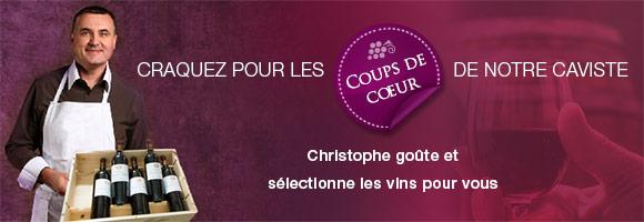 Notre cave est gérée par Christophe JEAN, l'un des anciens Sommeliers du Fouquet's et Chef Sommelier de La Closerie des Lilas. Il goûte et sélectionne les vins qu'il propose à la vente. Les vignerons sont régulièrement rencontrés par Christophe, qui vous conseille avec plaisir pour choisir, conserver et déguster votre vin. Voici une sélection de vins