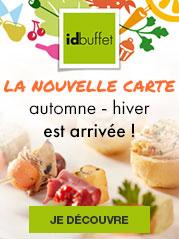 Découvrez la nouvelle carte Idbuffet Automne - Hiver