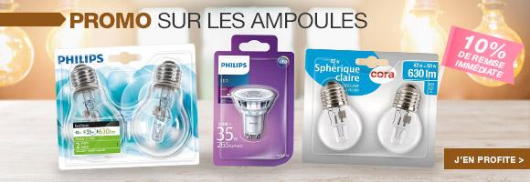 Profitez de nos promotions sur les Ampoules.