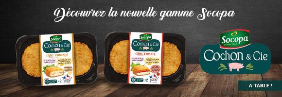 Découvrez la nouvelle gamme SOCOPA Cochon&Cie.