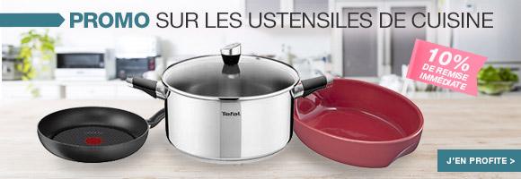 Profitez de nos promotions sur les ustensiles de cuisine.