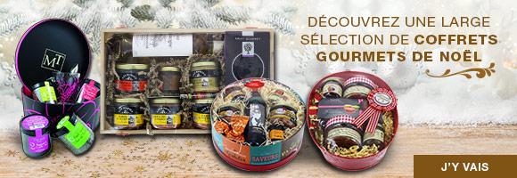 Houra vous propose un large choix de coffrets gourmets à offrir pour Noël, faites plaisir à vos proches ou à vous-même !