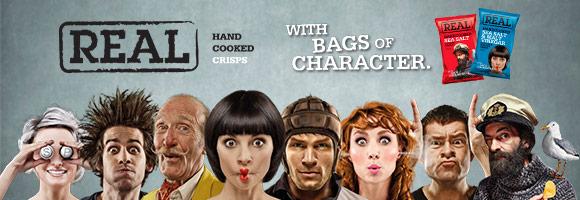 Découvrez les chips artisanales Anglaise Real !