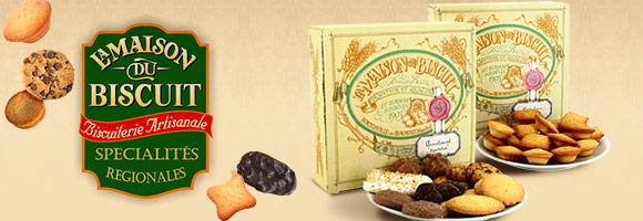 La Maison du Biscuit, biscuiterie artisanale et familiale dans le département de la Manche en Normandie où les savoir-faire de leurs biscuitiers se transmettent depuis 5 générations dans la famille Burnouf.