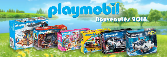 PLAYMOBIL®, un concept de jeu dès 1 an qui allie le plaisir de jouer à celui d'imaginer. Toutes les générations se retrouvent autour de scènes historiques, ou quotidiennes. En avant les histoires.