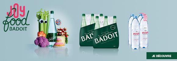 Célébrez la JOYFOOD avec BADOIT.