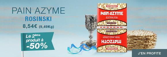 Vos matsots pour Pessah en promotion : la deuxième à moitié prix !