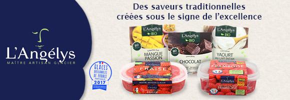 Sans colorants, sans arômes artificiels, sans conservateur et sans gluten. Découvrez une sélection de crèmes glacées et de sorbet aux saveurs traditionnelles créées sous le signe de l'excellence, ainsi que 5 nouveaux parfums Bio, et toujours fabriqués en Charente Maritime.