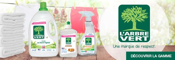 Découvrez la gamme L'Arbre Vert Entretien, pour le respect de l'environnement et pour la santé de votre famille