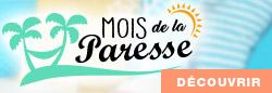 Découvrez Le Mois de Paresse du 1er au 31 mai 2018
