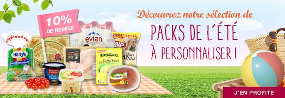 Découvrez notre sélection de packs de l'été à personnaliser