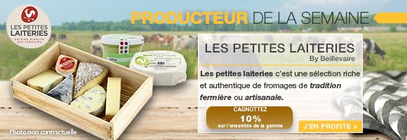 Profitez de notre cagnottage sur l'ensemble de la gamme Les petites Laiteries by beillevaire.